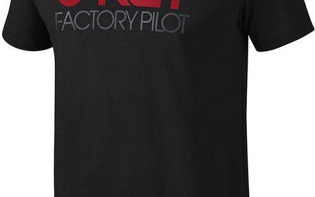 Tričko Oakley FP LOGO S/S TEE L Černá