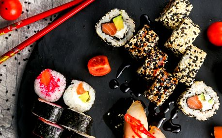 39% sleva na running sushi All You Can Eat v OC Forum Liberec