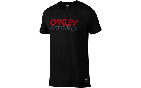 Tričko Oakley FP LOGO S/S TEE M Černá
