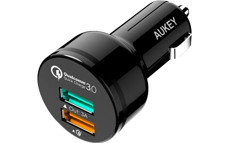 Aukey 2-Port 33W Car Charger - CC-T7