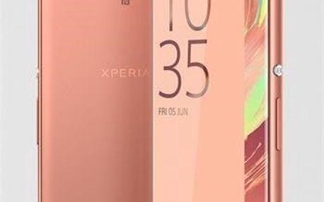 Mobilní telefon Sony XA (F3111) - Rose Gold (1302-4672)