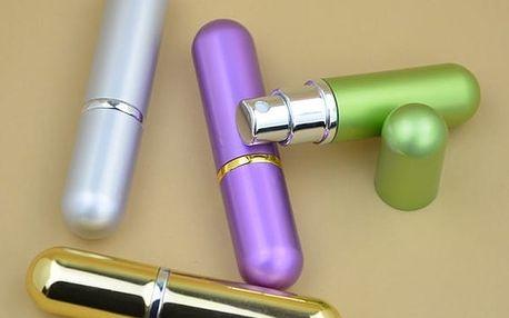 Mini flakón na parfém v rozprašovači - 10 barev