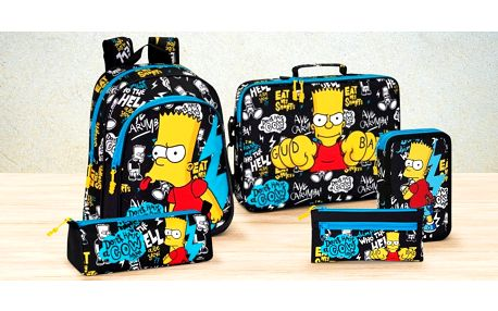 Školní potřeby pro fanoušky Barta Simpsona
