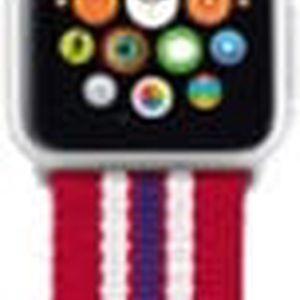 Trust náramek pro Apple Watch 42mm, červená proužky - 20932