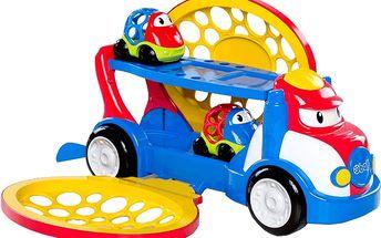 BRIGHT STARTS Oball tahač + 2 autíčka Go Grippers™, 18m+