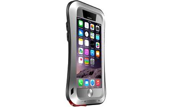Love Mei Case iPhone 6 Three anti Waistline Silver - LMC/0591