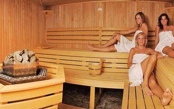 Vstup nebo permanentka do sauny pro dva + sekt
