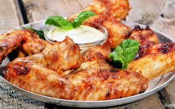 Pravé kuřecí posvícení: Kilo grilovaných křídel