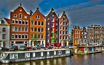 Amsterdam, Alkmaar, Zaanse Schans: 4denní zájezd z Prahy do Holandska pro 1 osobu vč. 1 noci