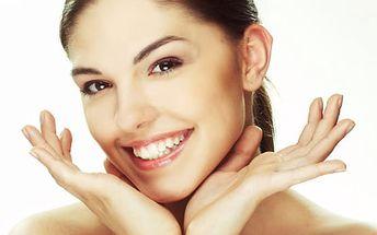 Kosmetické ošetření pleti včetně peelingu, masáže rukou a parafínového zábalu v délce 100 minut.