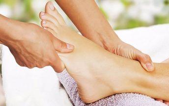 Reflexní masáž chodidel s balneoterapií
