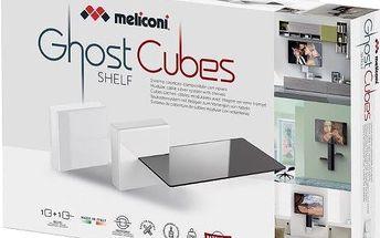 Meliconi GHOST CUBE cover, bílá - 480525 + Zdarma Meliconi C-35 P Čisticí sprej 35 ml + utěrka z mikrovlákna + štěteček, k čištění (v ceně 139,-)