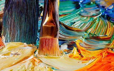 Olej či akryl na zkoušku - 2hodinový kurz pro 2 osoby