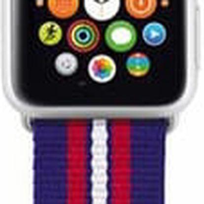 Trust náramek pro Apple Watch 42mm, modrá proužky - 20993