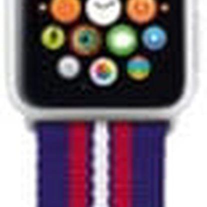 Trust náramek pro Apple Watch 38mm, modrá proužky - 20991