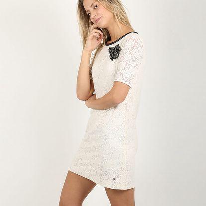 Dámské krajkové šaty Replay W9684 Dresses s delšími rukávy