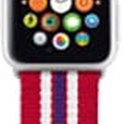 Trust náramek pro Apple Watch 38mm, červená proužky - 20918