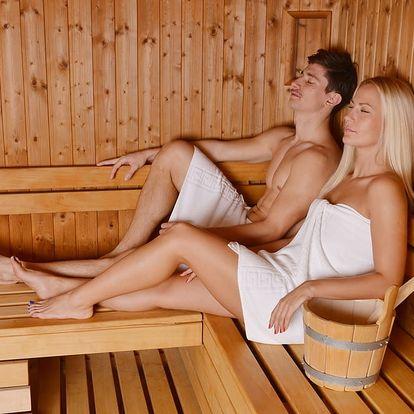 90min. relaxační balíček pro dva: infrasauna, masáž, zábal, ovoce v čokoládě a 2 sklenky sektu