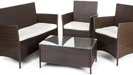 Sleva 5% na zahradní nábytek: sestavy, houpačky, lavičky, slunečníky...