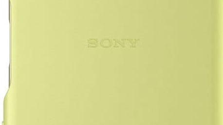 Sony SBC22 Style Back Cover Xperia X, limetková/zlatá - 1301-5886