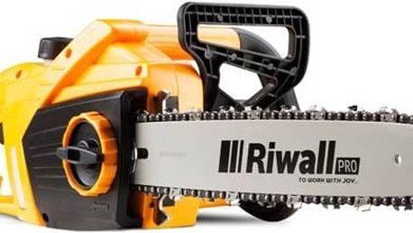 Elektrická řetězová pila Riwall RECS 1840 se skvělým poměrem cena/výkon