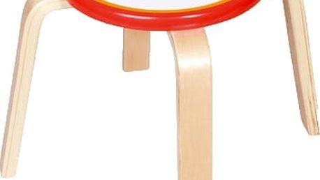 SCRATCH Dřevěná dětská stolička Formule