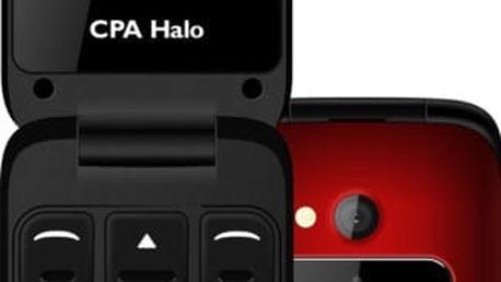CPA HALO 15, červená - TELMY1015RE + Zdarma GSM myPhone EASY, černá (v ceně 690,-)