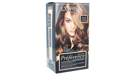 L´Oréal Paris Préférence Récital 1 ks barva na vlasy pro ženy 6.35 Havane