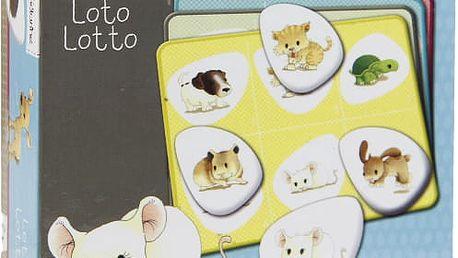 AVENUE MANDARINE Dětská hra Loto – Zvířátka