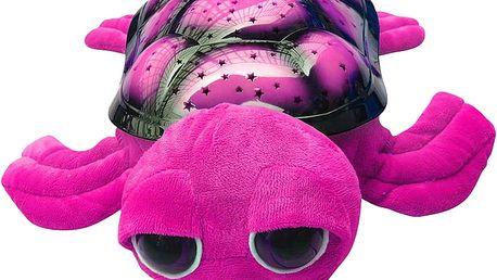HM STUDIO Světelný projektor želvička (růžová)