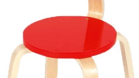 SCRATCH Dřevěná dětská židle Rybička