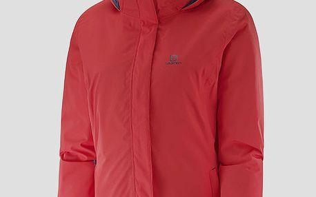 Dámská zimní bunda Salomon ELEMENTAL INSULATED JKT W INFRARED v jednoduchém střihu