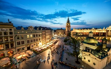 Polsko - Krakov, Osvětim: 1denní výlet pro 1 os., možnost návštěvy solných dolů ve Wieliczce