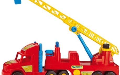 WADER Auto Super Truck hasiči plast 77 cm