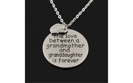 Řetízek pro babičku s vnučkou