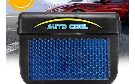 Solární ventilátor k zavěšení na okno automobilu