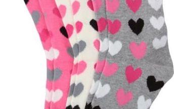 3 páry vysokých ponožek Rebels 38-42