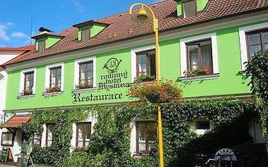 3–4denní pobyt s možností polopenze a wellness v hotelu Myslivna v Třeboni pro 2