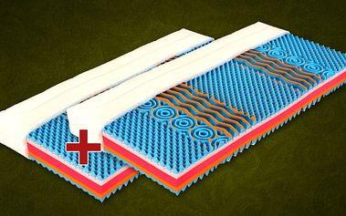 Tropico Matrace Color Visco 1+1 Zdarma