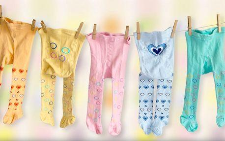 Dětské punčocháče pro kojence i starší děti