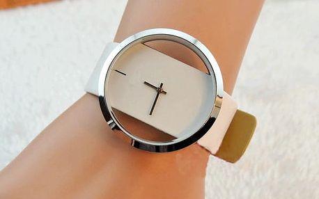 Dámské hodinky Geneva v bílé, růžové či zelené barvě a hodinky Luxory v bílé či černé barvě