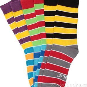 3 páry vysokých ponožek Rebels 41-46
