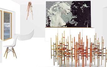 Interiérový online návrh 1 místnosti od bytové designérky