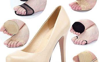 Ochranná vložka do bot na podpatku - černá, vzor 5 - dodání do 2 dnů