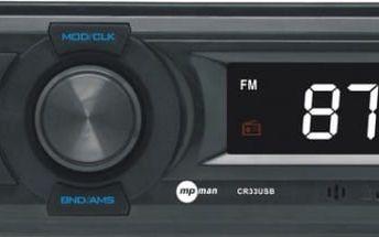 MpMan CR 33 Autorádio, FM tuner