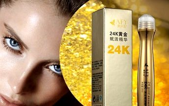 2 v 1 Zlaté oční sérum a kyselina hyaluronová