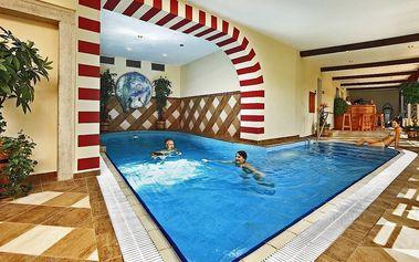 Pohádkový pobyt v 5* hotelu v centru Krumlova