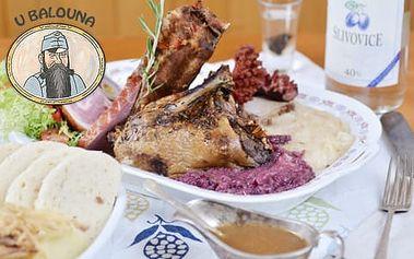 30% sleva na veškerá jídla a nápoje v restauraci U Balouna na Václavském náměstí