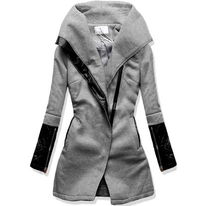Dámský kabát Vouge šedý AKCE