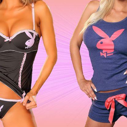Valentýnské pyžamo nebo košilka Playboy